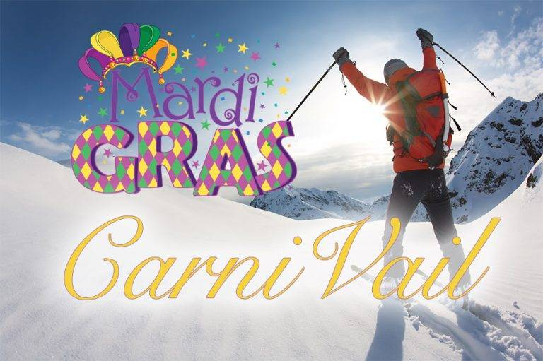 Vail ski party Carnivail