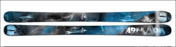 Armada Invictus Rental Ski