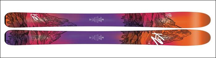 Vail Skis K2 Luv Struck