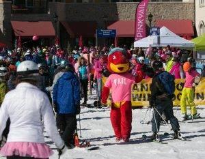 Venture Sports Pink Vail Ski Event