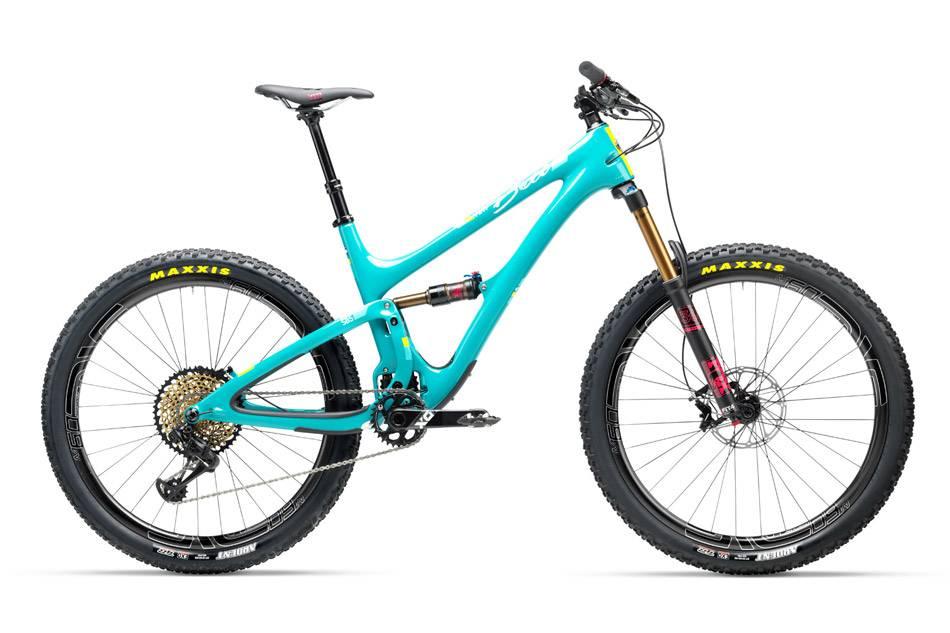 mountain bike rental Yeti SB Beti
