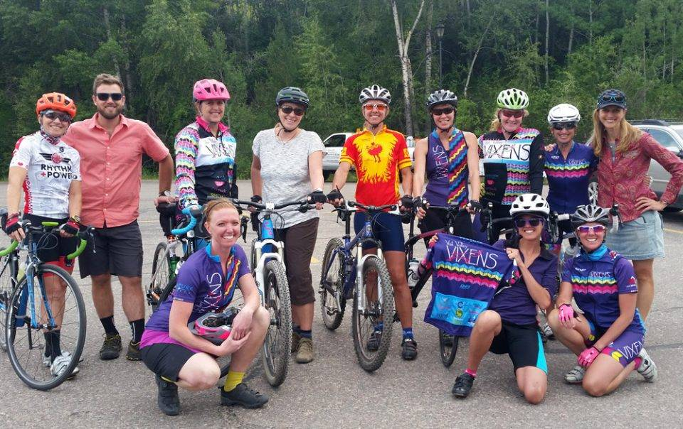 green riders road ride friends