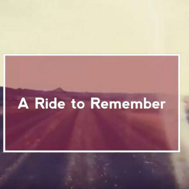 a road bike ride to remember