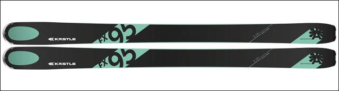 Kastle fx 95 ski rental