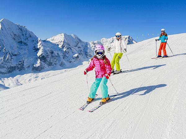 vail family skiing