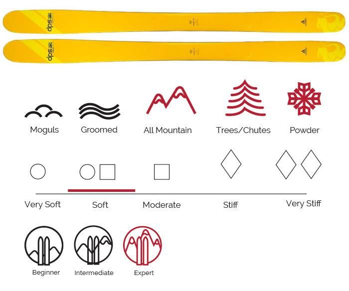 DPS Wailer 100 ski rental Vail