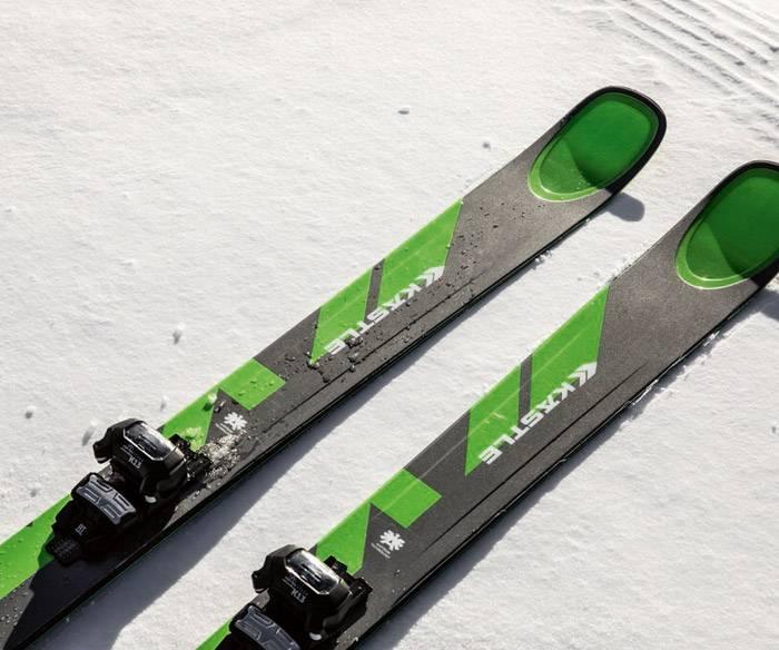 Vail ski binding mounting