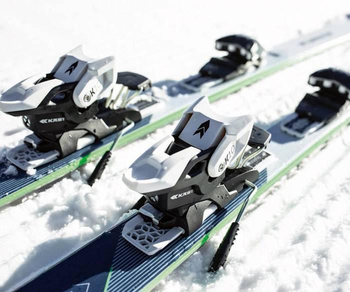 Vail ski binding test