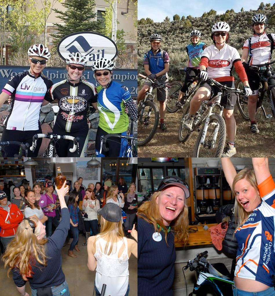 Vail Valley Vixens women's bike group