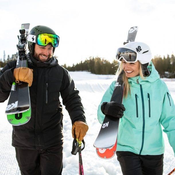 k2 ski rental demo