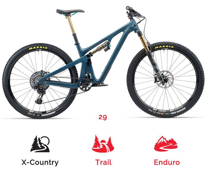 Yeti SB 130 mountain bike rental