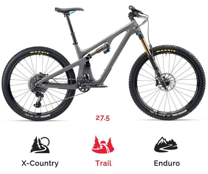Yeti SB 140 mountain bike rental
